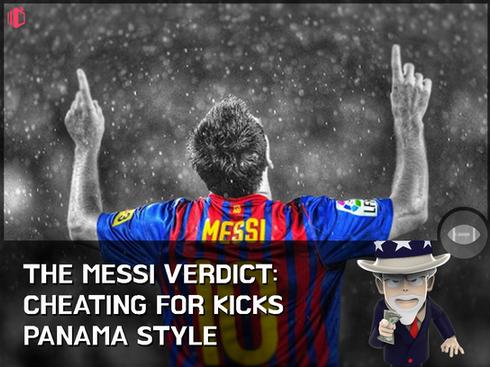 W.T.F(WonderfullyTactless&Forward) bake on the Messi Verdict