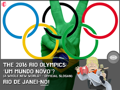 W.T.F(WonderfullyTactless&Forward) bake on the 2016 Rio Olympics