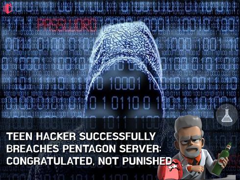 Wiz-Kid teen hacks Pentagon website, gets thanked for finding security flaws