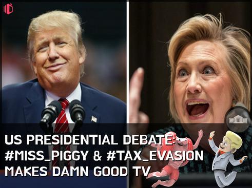 W.T.F(WonderfullyTactless&Forward) bake on the US Presidential Debate