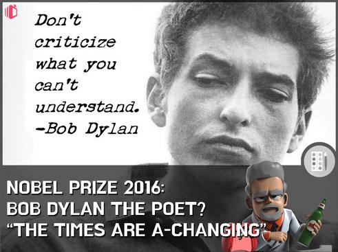 W.T.F(WonderfullyTactless&Forward) bake on the 2016 Nobel Prize