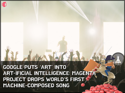 Google's 'artistic AI' Magenta releases world's first machine-composed song: first step into