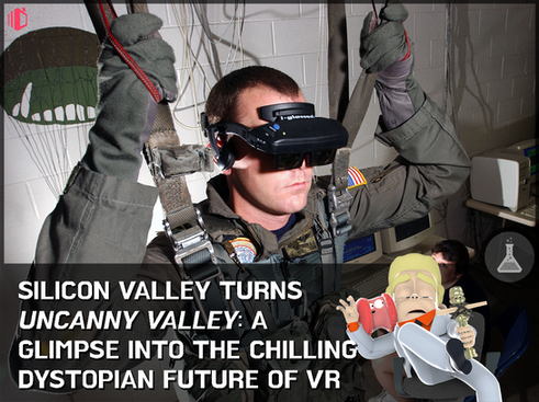 Is virtual reality the death of us? Short film Uncanny Valley displays an eerie foreshadowing of VR'