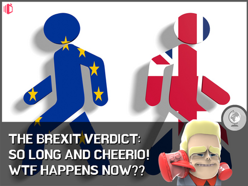 W.T.F(WonderfullyTactless&Forward) bake on the Brexit Verdict