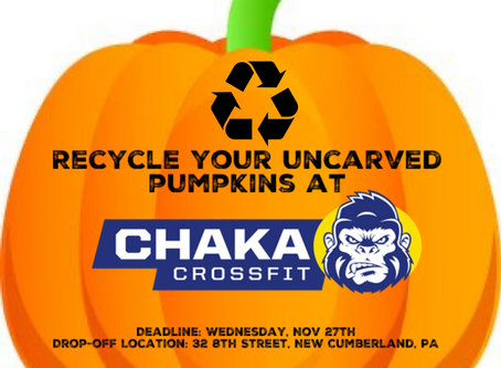 Chaka Weekly Programming: 11/4/19 to 11/9/19