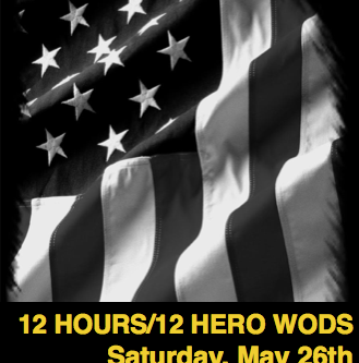 12 Hours/12 Hero WODs