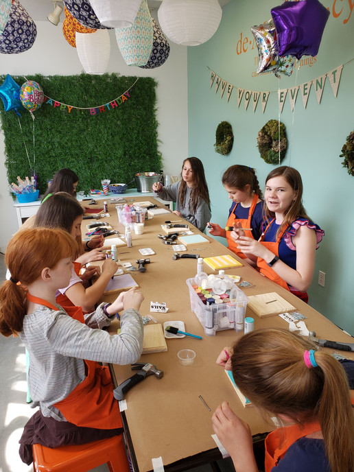 Celebrating with crafts