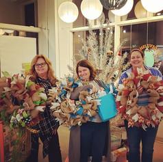 Birthday wreaths!  We love celebrating s