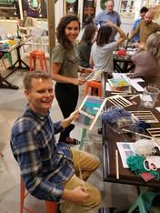 Craft activities make great team building events