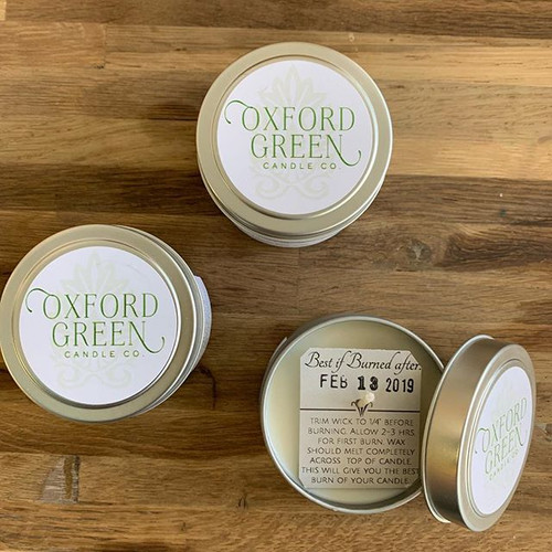 Oxford Green Candle Company Candle Tins