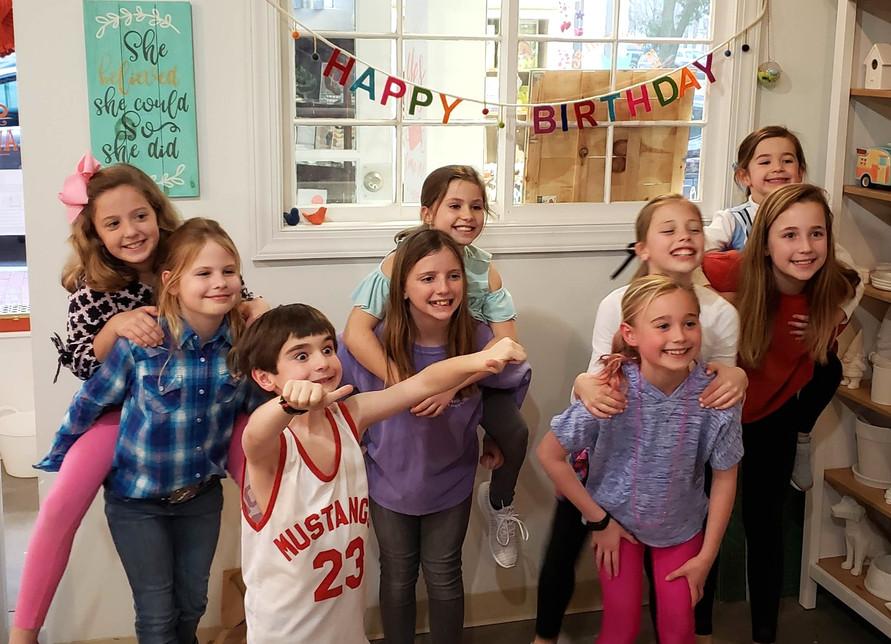 Kids birthday party at The Devilish Egg