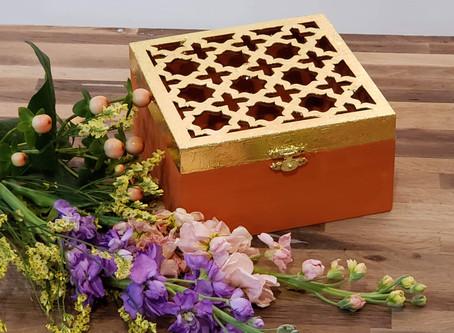 Gilded Box DIY Tutorial