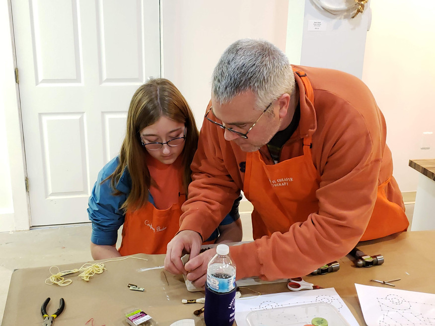 Spend some time with your kids crafting