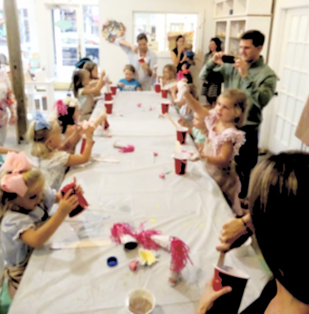 Birthday parties for all age children