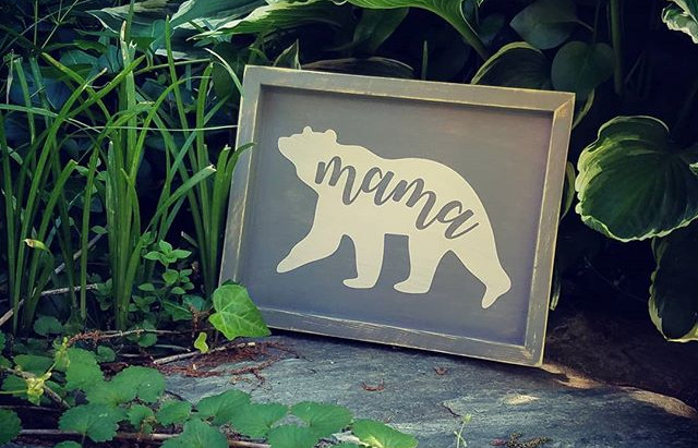 Mother's Day Gift Idea: Make one of these for the Mama bear in your life or buy her a gift cer