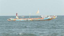 Barco de pescadores.