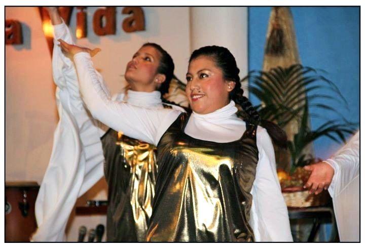 Grupo de danza de N.V.Pinto