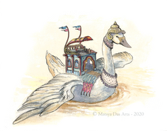 Celestial Swan Carrier