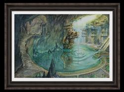 Cenote - Original Painting, US$690,00