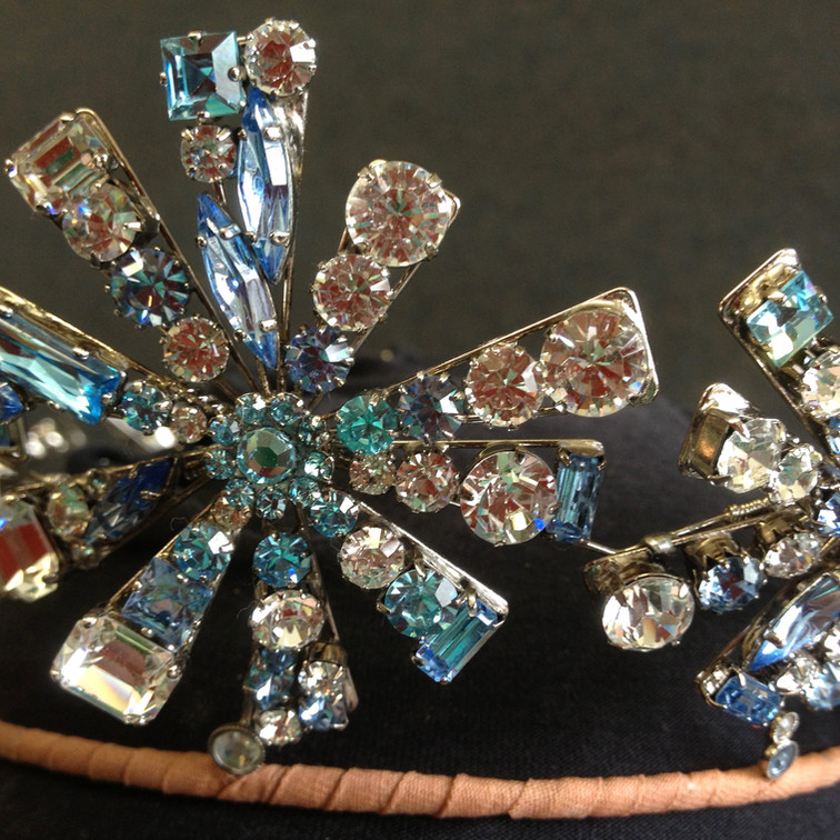 Detail from tiara (Wicked the Musical)