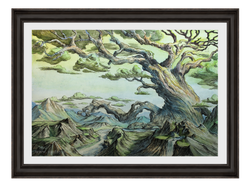 Mother Tree - Original Painting, US$595,00