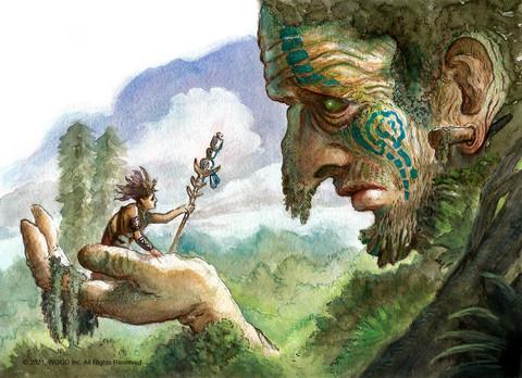 Kab'Mam Tree Spirit