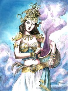 Apsara Celestial Dancer