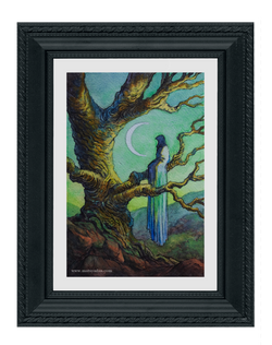 The Waiting - Original Painting, US$327,00