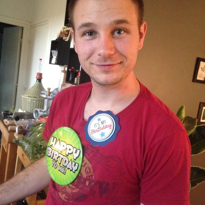 Snapshots: Chris's Birthday Party