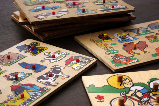 Flea Market Finds Part 2: kids themed