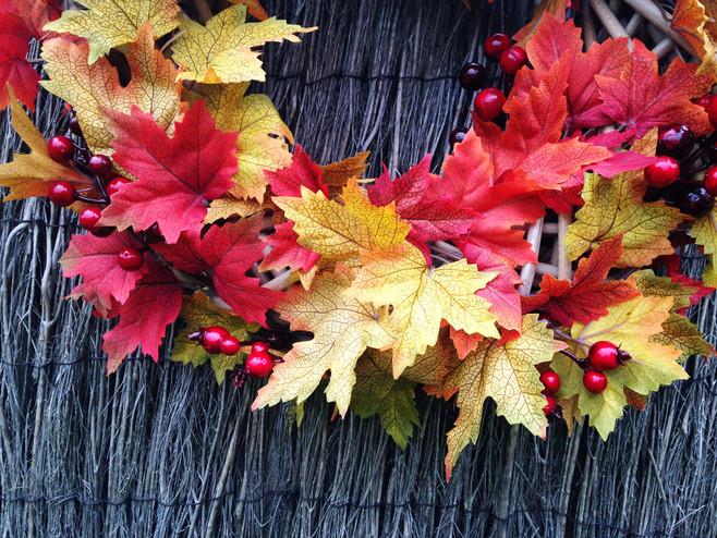 Easy Fall Wreath DIY