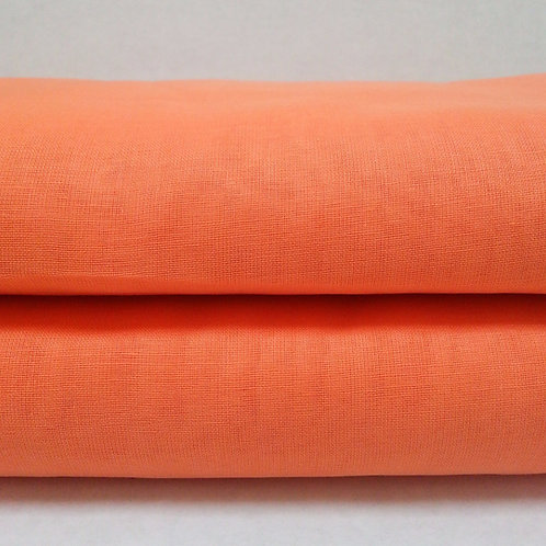 Full Voile Light Jalebi (peachy) Orange by the yard
