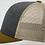 Thumbnail: Tri-Color: Heather Grey/Birch/Amber Gold 115