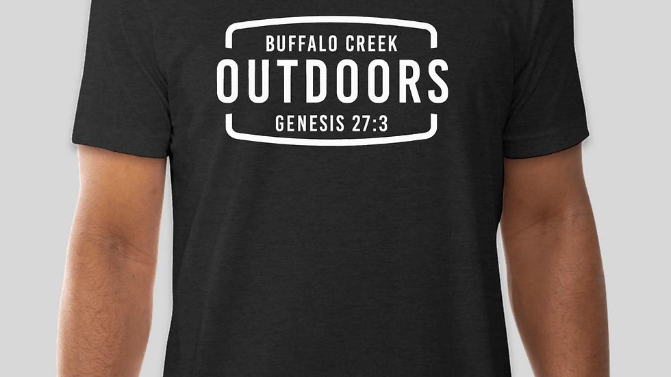 BUFFALO CREEK OUTDOORS T-Shirt (Black)