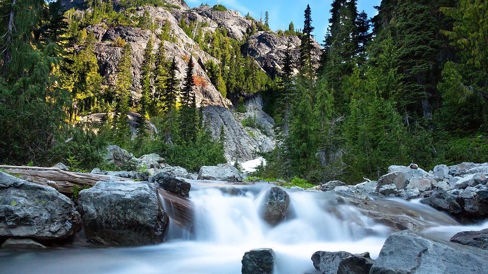 Waterfall at Spade