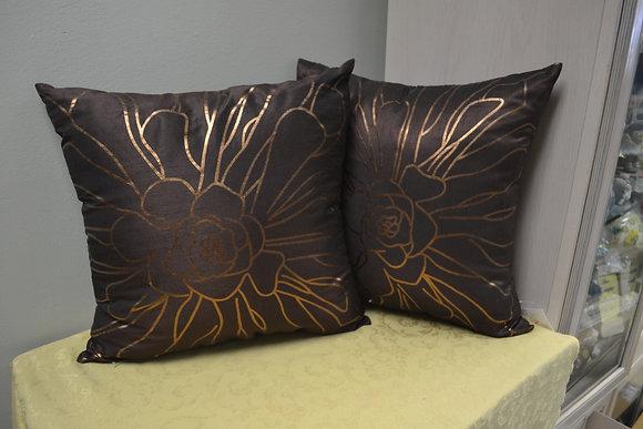 Faux Silk Pillow