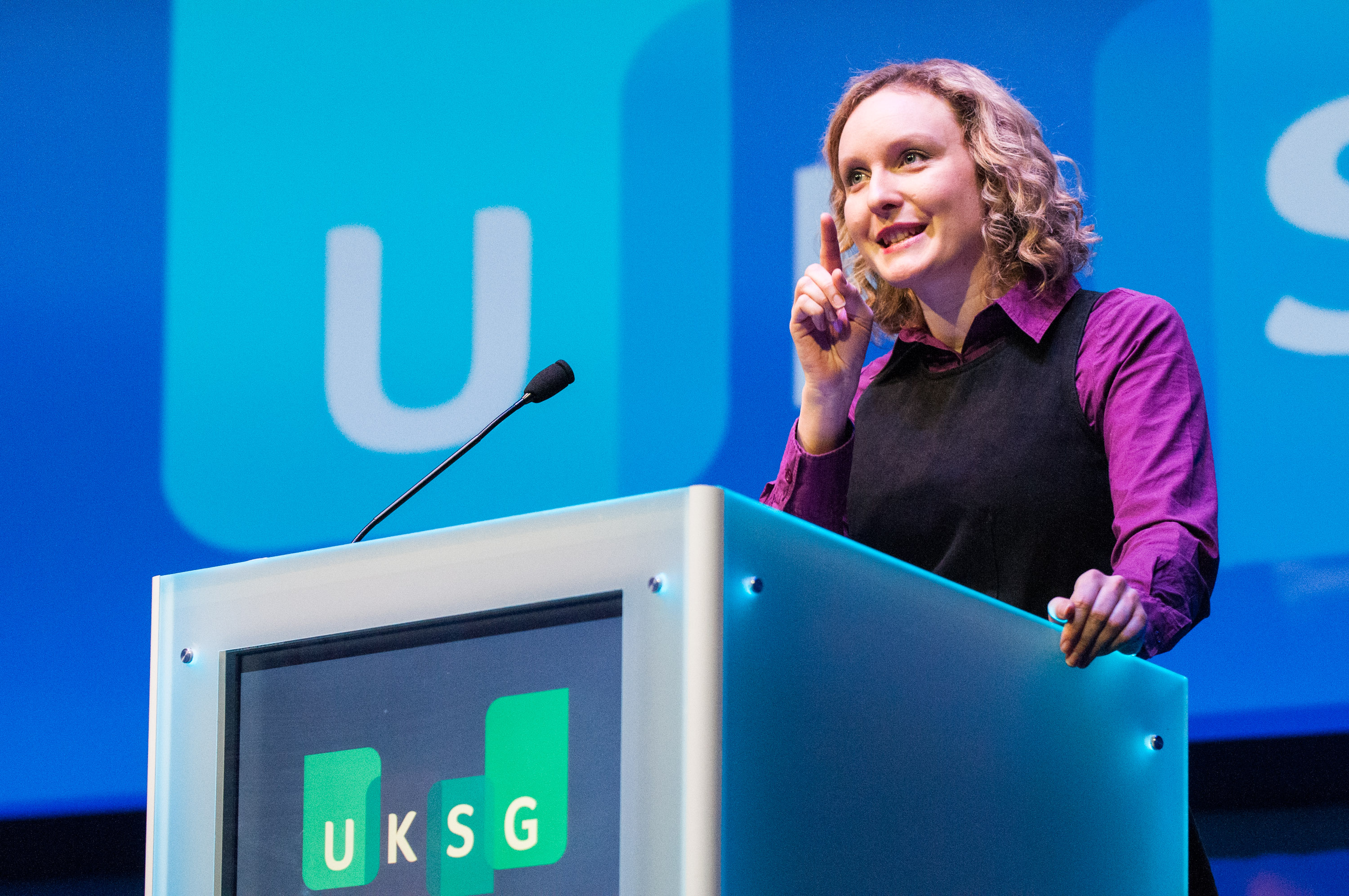Speaking at UKSG conference