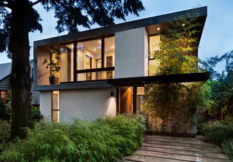 Bewertung von modernen Ein- & Zweifamilienhäuser, Passivhäuser