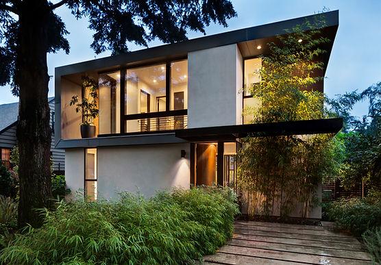Wertschätzung modernes Haus