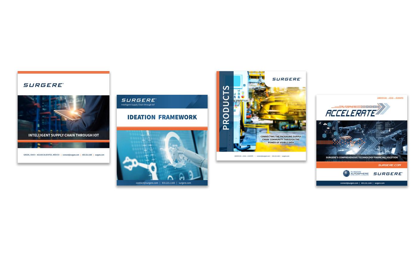 Surgere Brochure Covers