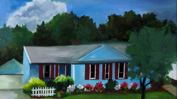 Have a Custom Painting of your Home!
