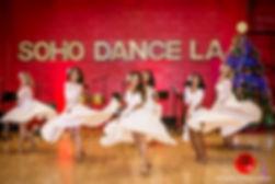 Soho Dance LA, Soho Angels, salsa dancing.