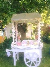 Wedding Cart. Sweet Cart