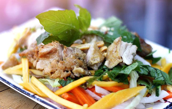 Mango Salad with Chiken