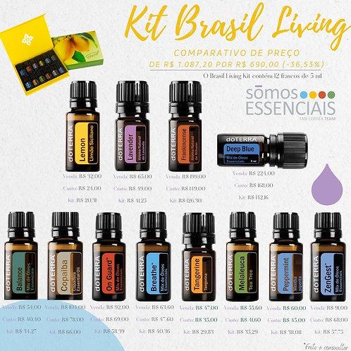 Kit Brasil Living
