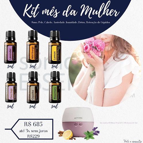 Kit Mês da Mulher