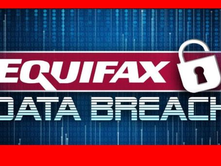 Latest #Equifax Data Update...