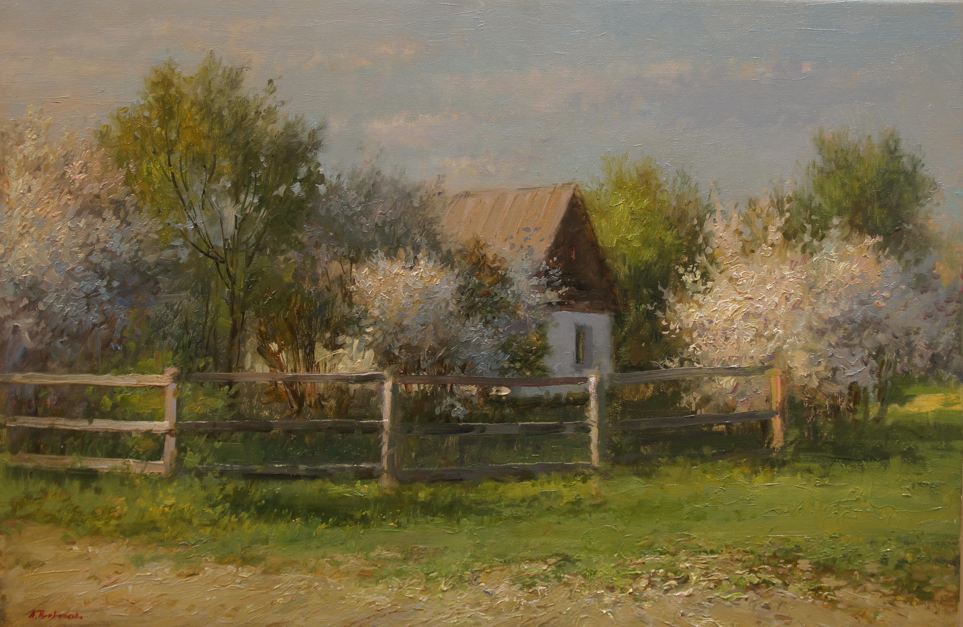 ,,Весна в Коломенском,, х.м 40х60 2019г.