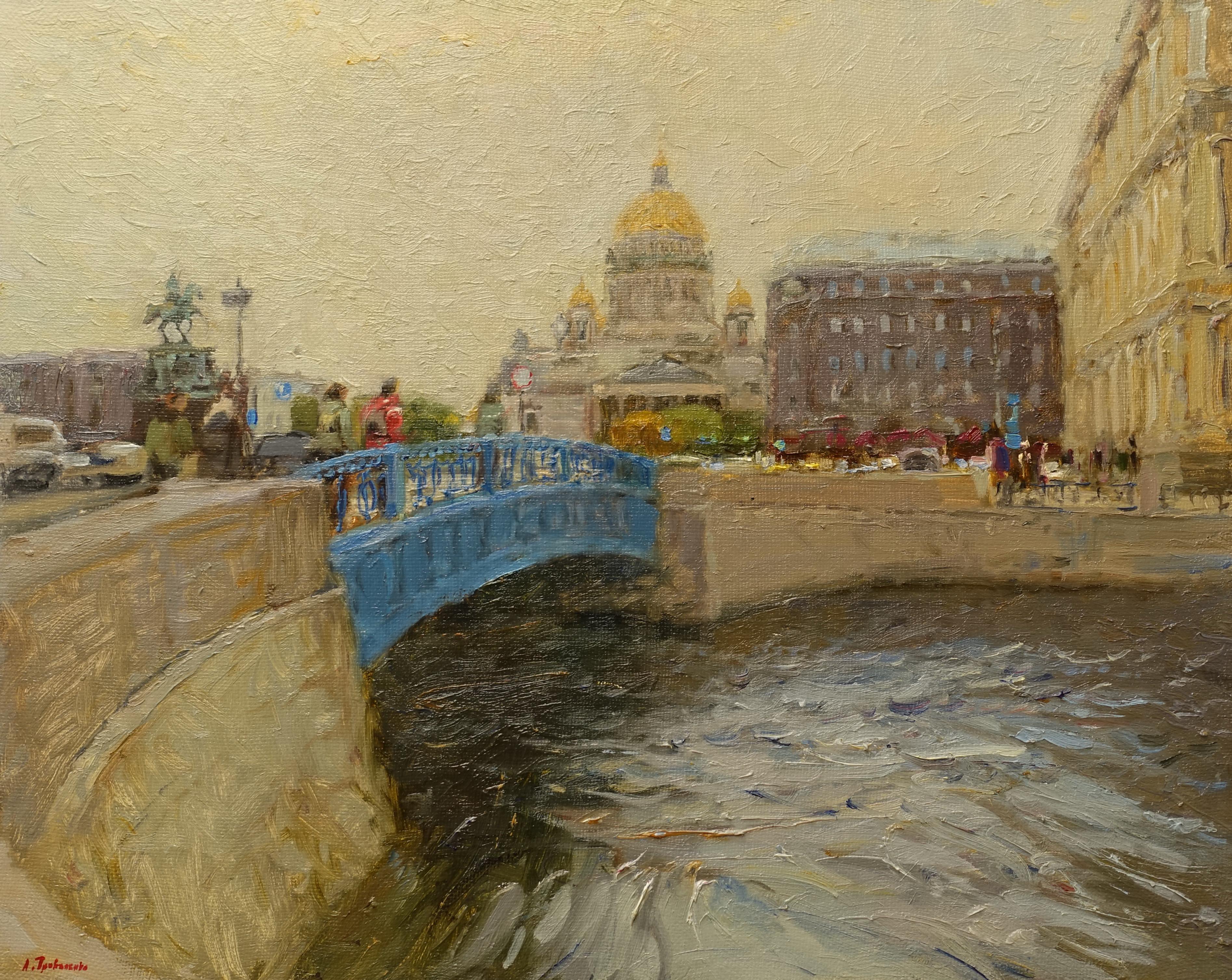 ,,Синий мост. Санкт-Питербург,, х