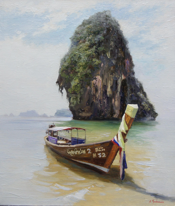 ,,Провинция Краби. Таиланд,, х.м 35х30 2015г.